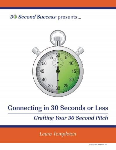 Connecting in 30 Seconds or Less