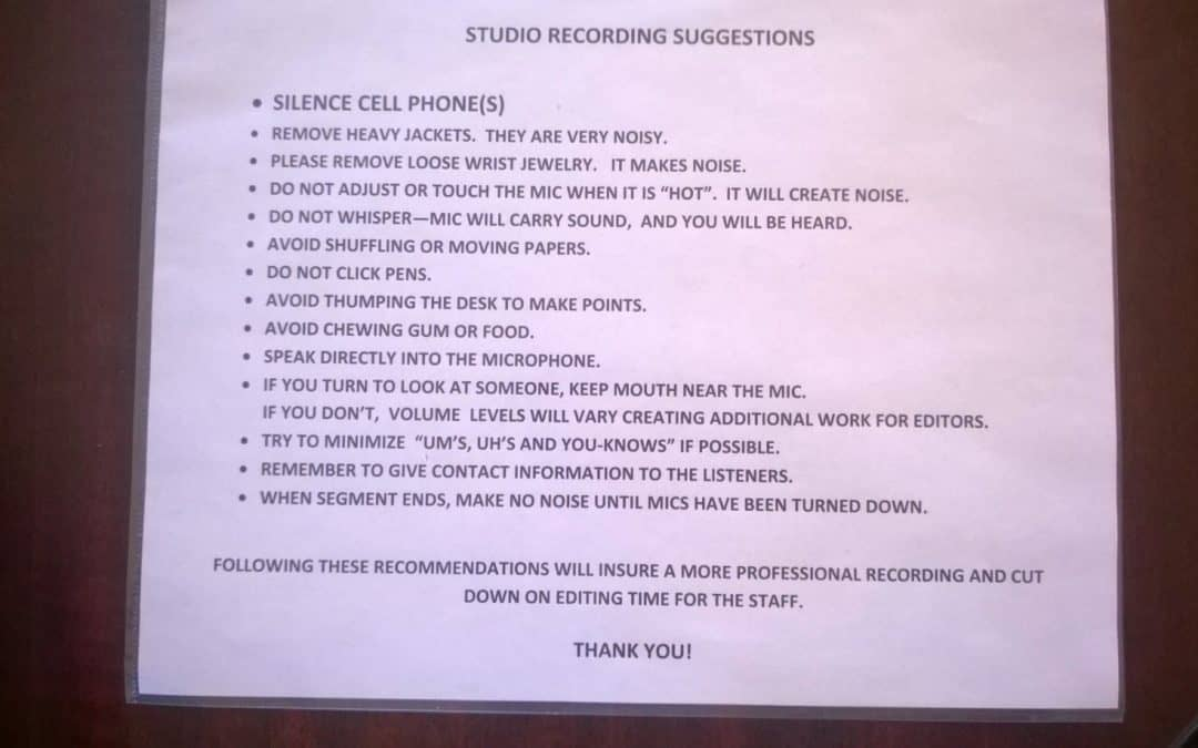Tips for a More Professional Recording