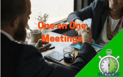 One on One Meetings