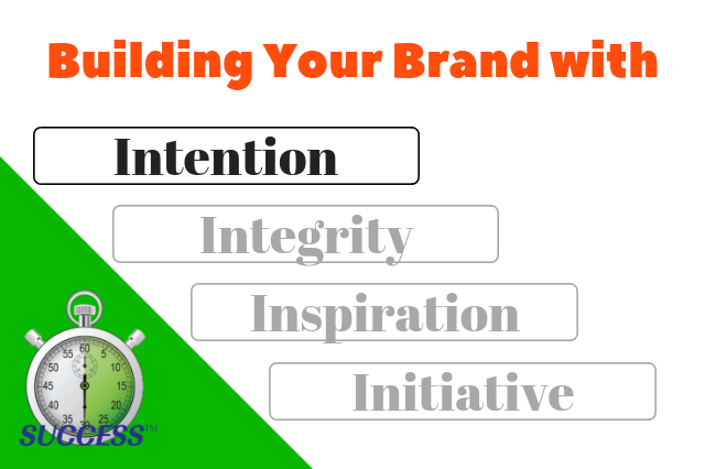 Building Your Brand Part 1 – Intention