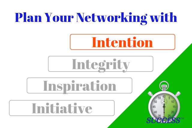 Plan Your Networking – Part 1 – Intention